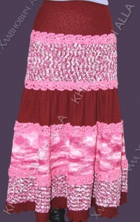 """......""""Веселая юбка""""...... Модель 550"""