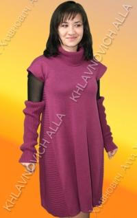 .... Платье с митенками .... Модель 37
