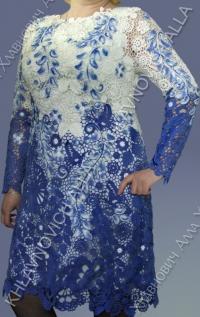 """Платье """"Березовая роща 2"""" Модель 733"""