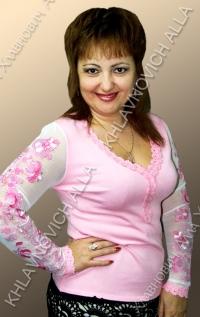"""Блуза """"Розовая мечта"""" Модель 86-В"""