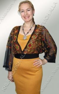 """Платье """"Летний костер"""" Модель 135-В"""