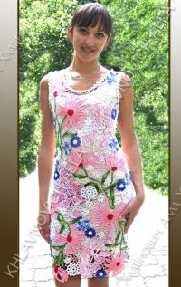 """Платье """"Летний сад"""" Модель 46"""