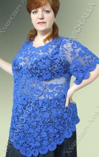 """Блуза """"Гладь озера"""" Модель 759"""
