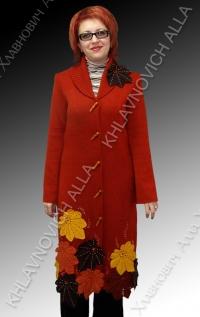 """Пальто """"Снова осень"""" Модель 375"""