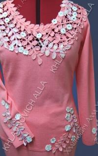 "Блуза ""Розовая сакура"" Модель 650"