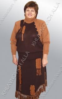 """Костюм """"Шоколадное настроение"""" Модель 509"""