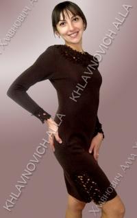 """Платье """"Шоколадное настроение"""" Модель 562"""