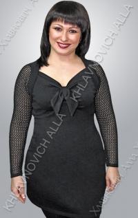 """Платье """"Черная лилия"""" Модель 579"""