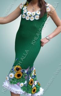 """Платье """"Летняя благодать"""" Модель 700"""