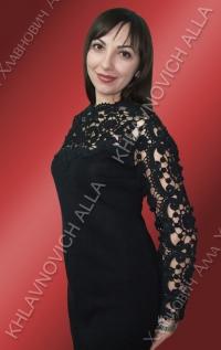 """Платье """"Романтические сумерки"""" Модель 685"""