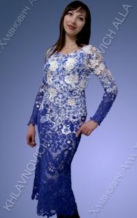 """Платье """"Березовая роща"""" Модель 681"""