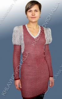 Платье-туника женское. Модель 475