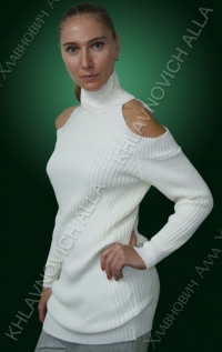 Беленький свитерок. Модель 776