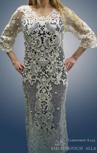 """Платье """"Соткано из света"""" Модель 801"""