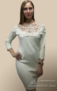 """Платье женское """"Праздник"""". Модель 805"""