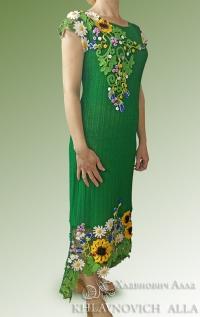 """Платье """"Летняя благодать-2"""" Модель 807"""