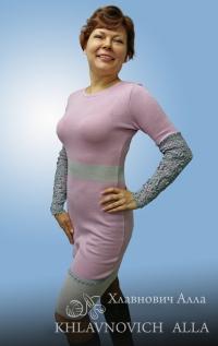Платье «Розовый вечер» Модель 813